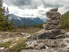 Hiking trail Razor's Edge