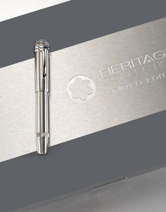 MONTBLANC: Heritage Collection 1912 Titanium Limited Edition 333 Safety Fountain Pen
