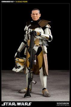 Figura Star Wars. Comandante Bly, 30cm. Sideshow Collectibles