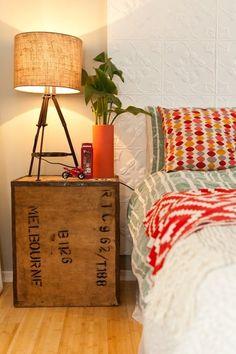 Facil, barato y precioso dormitorio