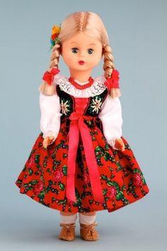 DreamWorld Collections Highlander Girl (Goralka) - 18 Inch Collectible Regional Doll : Regional Dolls