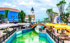 Sabia que na Tailândia tem uma réplica da cidade italiana de Veneza? Olha a prova aí!