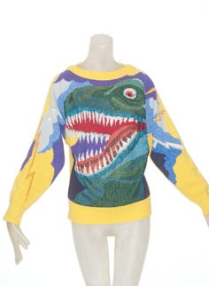 Vintage Krizia T-Rex. Cause my name is on it and so is a Dinosaur. Duh.