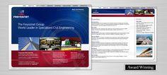 Freyssinet Corporate Website