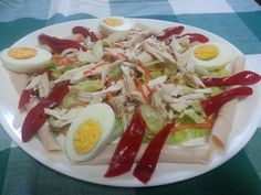 Ensalada de pollo con vinagreta de mostaza, ¡muy sencilla!