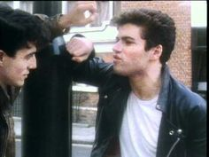 Music video by Wham! performing Wham Rap! (Enjoy What You Do?). (C) 1982 SONY BMG MUSIC ENTERTAINMENT (UK) Limited