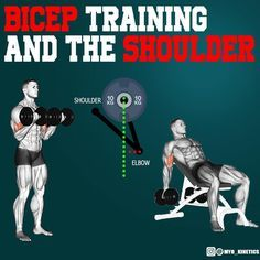 Should you move your shoulders during a bicep curl? A great bicep exercise that I would recommend is the incline bench curl; I was never a fan of it till recently because I found out its usefulness. Biceps can get over trained and tight which can lead to problems in the future. Inclines curls can help with that, since the shoulder is in extension the biceps is in an elongated position, training eccentrically during this exercise can help lengthen the fibers and decrease tightness over time.