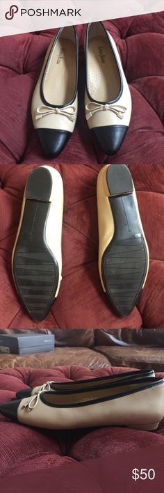 Neiman Marcus Flats Only worn once Neiman Marcus Shoes Athletic Shoes