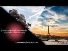 retouchez vos photos de paysages avec lightroom et Photoshop - YouTube