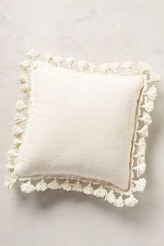 Falling Fringe Pillow - anthropologie.com