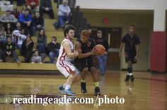 BOYS BASKETBALL Reading High Red Knights defeat the Wilson Bulldogs 56-34 at West Lawn. Photo by Jeremy Drey 1/13/2015