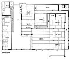 Nice Traditional Japanese House Floor Plan In Fujisawa