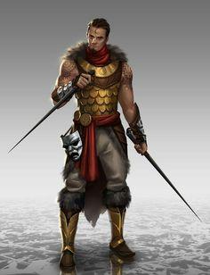 Random Fantasy/RPG artwork I find interesting,(*NOT MINE) from Tolkien to D&D. Character Design Cartoon, Fantasy Character Design, Character Concept, Character Art, Concept Art, Fantasy Male, Fantasy Armor, Medieval Fantasy, Inspiration Drawing