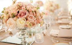 Decoração de Casamento : Paleta de Cores Rosa e Nude