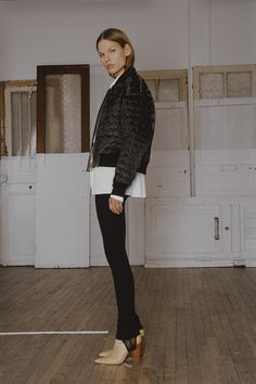the sheer stirrups on these pants by maison martin marginal for resort 2015 collection, are killing me!  #allaboutthedeets