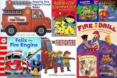 The Good Long Road: Ten for Tuesday: Activities for Fire Prevention Week #preschool
