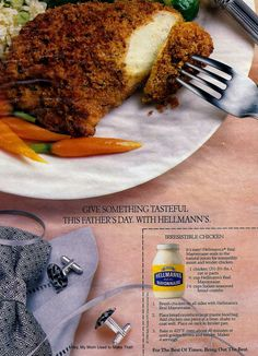 Father's Day 1988: Irresistible Chicken from Hellmann's
