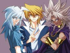 Yami Bakura, Joey, Yami Marik