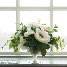 Mercury Glass Vases for Wedding Centerpieces   Afloral.com