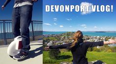 PLAYING WITH AN AIRWHEEL & EXPLORING DEVONPORT | NZ VLOG |