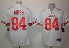 Nike San Francisco 49ers 84 Randy Moss White Limited Jersey Jerseys  Pinterest Nike nfl and San