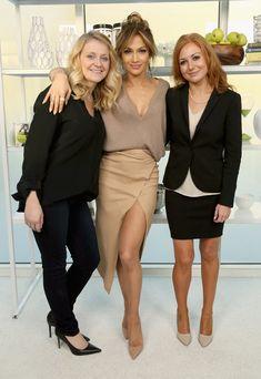 Jennifer Lopez in Brunello Cucinelli and Enza Costa launch BodyLab in Santa Monica. #bestdressed