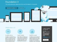 8 Useful Responsive CSS Frameworks - Web Design Ledger Flat Web Design, Web Design Tools, Tool Design, Ui Design, Interface Design, Graphic Design, Web Development Tools, Flat Ui, Web Project