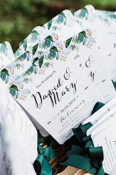 Classic Wedding - Green and White Wedding - Maryville, Tennessee Wedding - The Overwhelmed Bride Wedding Blog Wedding Bride, Wedding Blog, Wedding Planner, Our Wedding, Wedding Programs, Summer Wedding, First Time, Wedding Decorations, Invitations