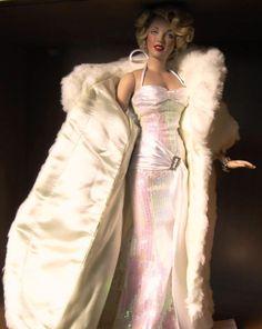 marilyn dolls | Franklin mint Marilyn monroe vinyl doll