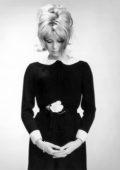 Catherine Deneuve by Walter Carone.