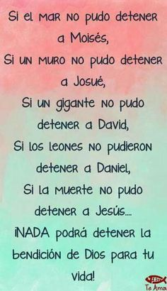 Tu mi padre Dios junto y A mi