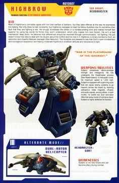 Transformers Universe - Gallery: G1 Highbrow & Gort