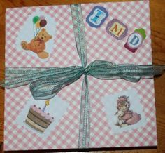 A fold out ablum created for our youngest granddaughter's first birthday and year. It has a bit of family history in it esp. about her given name