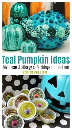 Teal pumpkin inspira