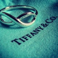 Tiffany's eternity ring. I LOVE it <3