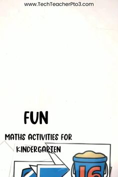 8 fun math activities for kindergarten that include math games and hands-on activities for early years students. Easy to follow and perfect for math lessons or math centres, these activities will keep your students engaged and on tasks with their number work. Kindergarten Math Activities, Preschool Math, Kindergarten Classroom, Math Games, Teacher Resources, Primary School Curriculum, Number Words, Number Games, Teacher Blogs