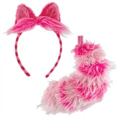 Disney Cheshire Cat Ear and Tail Set Costume Accessory Kit Official Costumes http://www.amazon.com/dp/B00475DHHW/ref=cm_sw_r_pi_dp_rtSbwb0F9ME6M