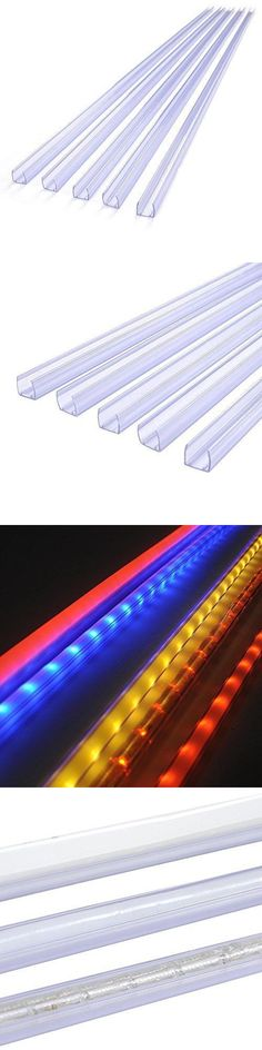 Lighting parts and accessories 20705 ceiling fan blades lighting parts and accessories 20705 clear pvc channel mounting holder led neon rope lights 5pc aloadofball Image collections