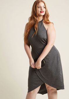 ModCloth Exceptional at All Angles Sheath Dress in 2X - Sleeveless Mid