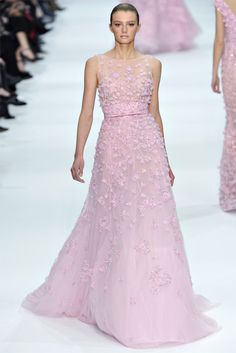 Elie Saab haute couture spring/summer 2012 collection #fashion #designer