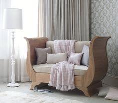Nestor Sleigh Cot Bed