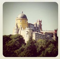 Sintra - the most enchanted place on the planet!! took me back to my disney childhood!!