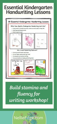 30 Essential Handwriting Lessons: No time for isolated handwriting lessons? This research-based handwriting model will ACTIVELY ENGAGE your students. Kindergarten Handwriting, Kindergarten Language Arts, Kindergarten Lessons, Kindergarten Writing, Handwriting Without Tears, Nice Handwriting, Writing Strategies, Writing Activities, Abc Phonics