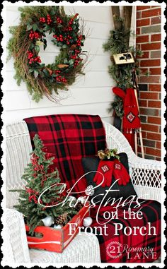 21 Rosemary Lane: Christmas on the Front Porch