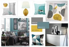 Teal And Mustard Living Room - Teal and mustard living room Teal and mustard living room accessories Teal and mustard living room ideas Teal and yellow living room Teal and yellow living room decor Grey teal and mustard living room Teal and mustard yellow Teal Living Room Color Scheme, Grey And Yellow Living Room, Teal Living Rooms, Living Room Interior, Living Room Designs, Living Room Decor, Condo Living, Living Area, Dining Room