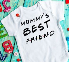 Mommys best friend onesie Birth/Pregnancy announcement onesie Birth reveal infant onesie Going home outfit Baby girl/boy Friends bodysuit - Baby Products Baby Shower Gifts For Boys, Baby Boy Shower, Pregnant Best Friends, Boys Growth Chart, Boy Best Friend, Going Home Outfit, Cute Maternity Outfits, Baby Boy Newborn, Baby Birth