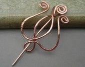 Celtico Scialle Pin / Spilla / Hair Pin-rame ...