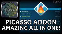 *PICASSO* KODI AMAZING ALL IN ONE ADDON: MOVIES TV SHOWS SPORTS DOCS & MORE (INSTALL GUIDE 2018)