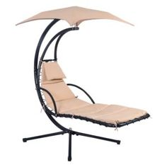 Hnedé závesné kreslo Timpana Sanremo | FAVI.sk Hammock Swing Chair, Porch Swing, Chair Cushions, Teak Outdoor Furniture, Outdoor Rocking Chairs, Aluminum Table, Outdoor Dining Set, Outdoor Decor