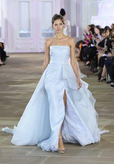 The Most Beautiful Dresses From Bridal Fashion Week 2017 Bridal, Strapless Dress Formal, Formal Dresses, Most Beautiful Dresses, Bridal Fashion Week, Fall Wedding Dresses, Marchesa, Vera Wang, Bridal Style